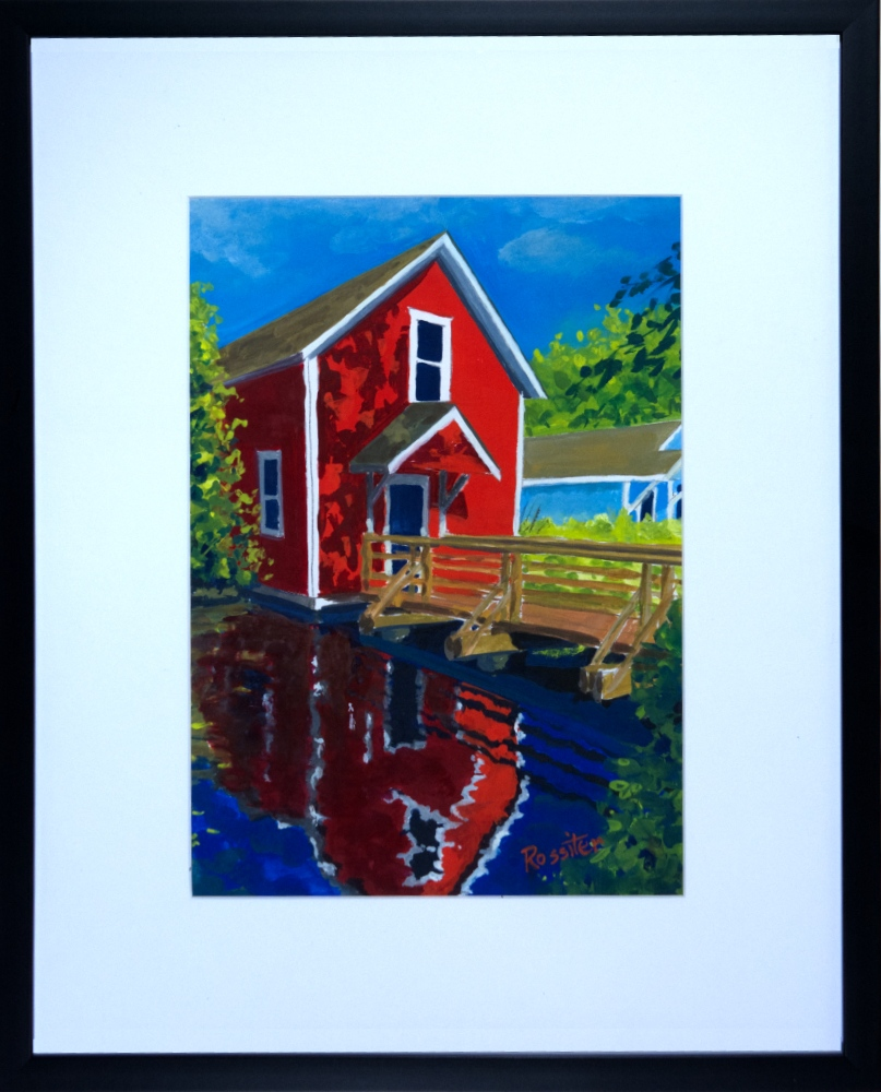 Name: Britannia Shipyards Heritage site | Location: Steveston, BC | Print Size: 9.5 x 13.5 | Frame Size: Frame 17 x 21 | Price: $200*