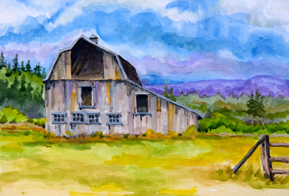 Name: Old Barn | Location: Location unavailable | Print Size: 9 x 13 | Frame Size: No Frame | Price: $130*