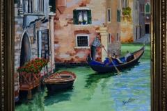 Name: Venice | Location: Italy | Print Size: 16 x 13 | Frame Size: Frame 16 x 19 | Price: $300*