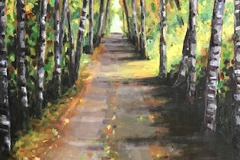Trans Canada Trail, Vancouver Island, BC   SOLD