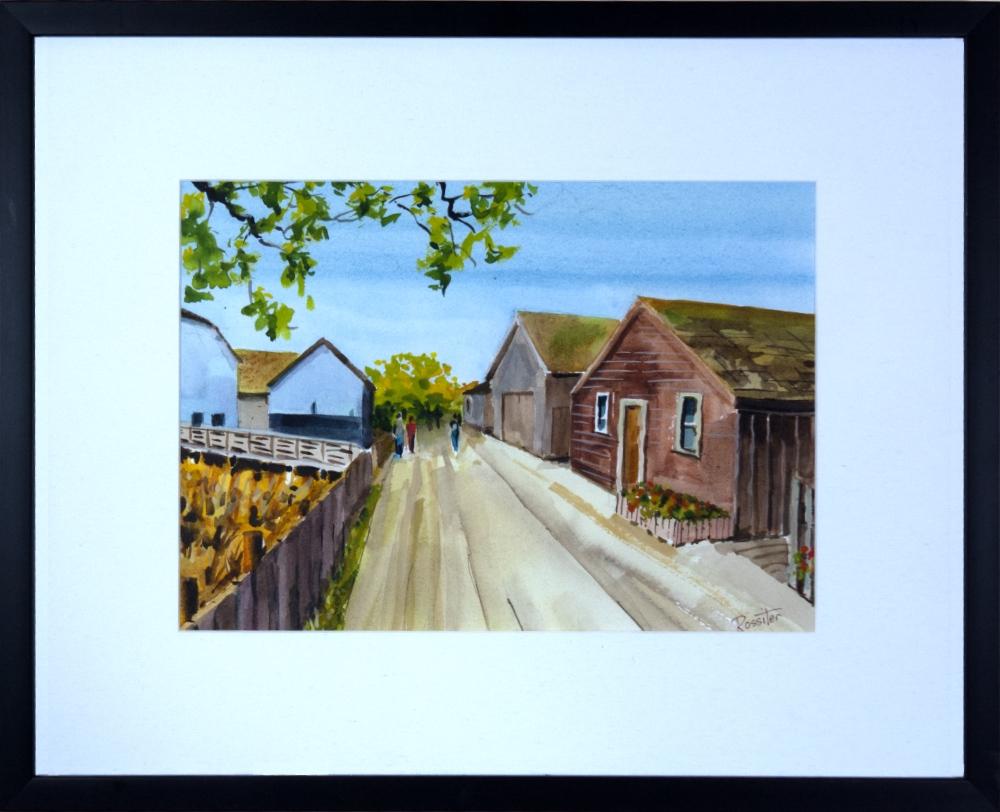 Name: Britannia Shipyards Heritage site | Location: Steveston, BC | Print Size: 9.5 x 13.5 | Frame Size: Frame 17 x 21 | Price: $200*