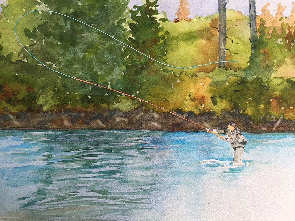 Fly Fisher | SOLD