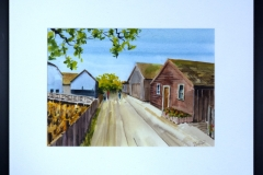 Name: Britannia Shipyards Heritage site | Location: Steveston, BC | Print Size: 9.5 x 13.5 | Frame Size: Frame 17 x 21 | Price: SOLD