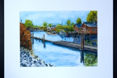 Name: Finn Slough | Location: Richmond, BC | Print Size: 10 x 14 | Frame Size: Frame 17 x 21 | Price: Sold