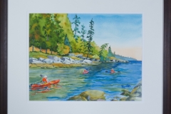 Name: Welcome Bay  | Location: Sunshine Coast, BC | Print Size: 14 x 18 | Frame Size: Frame 23 x 30 | Price: $300*