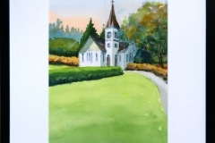 Name: Minoru Chapel | Location: Richmond, BC | Print Size: 9.5 x 13.5 | Frame Size: Frame 17 x 21 | Price: $200*
