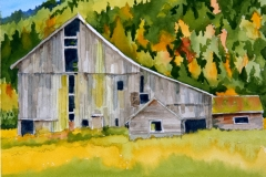 Name: Old Barn | Location: Fraser Valley | Print Size: 9 x 13 | Frame Size: No Frame | Price: SOLD