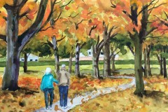 Name: Walk in the Park | Location: Richmond, BC | Print Size: 11 X 15 | Frame Size: No Frame | Price: $200