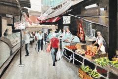 Market Day, Italy